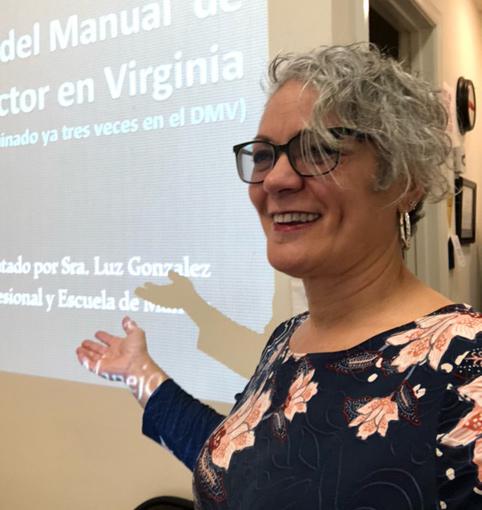 Luz Gonzalez, DMV Approved & National Safety Council Certified Instructor